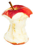 Core of red wealthy apple Royalty Free Stock Photo