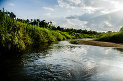 Core river. On the way At lampang , thailand Stock Photos