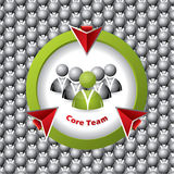 Core team formation Stock Images