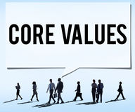 Core Values Core Focus Goals Ideology Main Purpose Concept Royalty Free Stock Photography