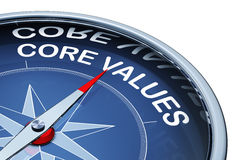 Core values royalty free stock photos