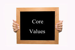 Core values stock images