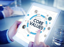 Core Values Principles Ideology Moral Purpose Concept Stock Photo