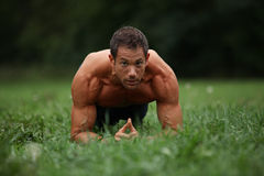 Core workout Royalty Free Stock Images