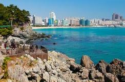 Corea del Sur de Busán de la playa de los dae del hun de Hae Imagen de archivo