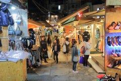 Corea del Sur de Seul de la calle de la moda de la universidad de Ewha Woman's Imagenes de archivo