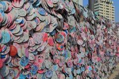 Corea del Sur de Seul de la calle de las compras de Insadong Fotos de archivo