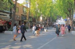 Corea del Sur de Seul de la calle de las compras de Insadong Imagen de archivo libre de regalías
