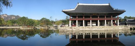 Corea Seul: Palacio de los reyes ilustración del vector