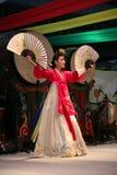 Coreano del bailarín Foto de archivo