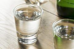 Coreano destilado claro alcoólico Soju foto de stock