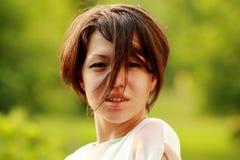 Coreano emozionale sorpreso, contentissimo, gioia Fotografia Stock