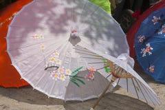 ` Coreano s del paraguas Imagen de archivo