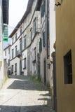 Coreglia Antelminelli (Τοσκάνη, Ιταλία) Στοκ Φωτογραφίες