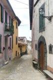 Coreglia Antelminelli (Toscanië, Italië) Royalty-vrije Stock Fotografie