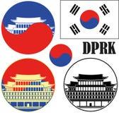 coreia Imagem de Stock