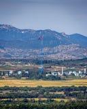 Coreia do Norte do Kijong-dong fotos de stock