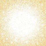 在透明背景的金黄闪烁闪闪发光 与闪光光的金充满活力的背景 r 皇族释放例证