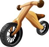 儿童自行车平衡 也corel凹道例证向量 库存照片