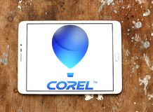 Corel Corporation logo Obraz Royalty Free