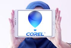 Corel Corporation logo Obrazy Stock
