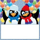 επίσης corel σύρετε το διάνυσμα απεικόνισης penguins Στοκ Εικόνες