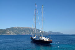 Corelia, sailing yacht Stock Photos