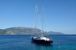 Corelia, varend jacht Stock Foto's