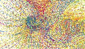 cores ilustração do vetor