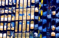 Cores abstratas fotografia de stock