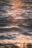 cores abstratas do outono do borrão da natureza - efeito retro do vintage fotos de stock