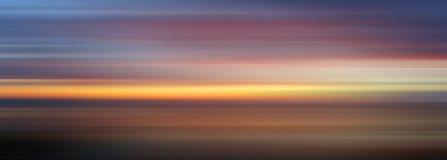 Cores abstratas do por do sol, Fotos de Stock Royalty Free