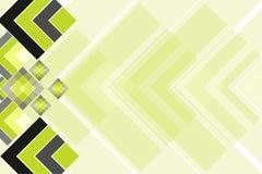 Cores abstratas modernas do fundo, da ilustração do vetor, do cinza, as verdes e as pretas Fotos de Stock