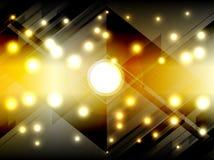 Cores abstratas que iluminam o fundo ilustração stock