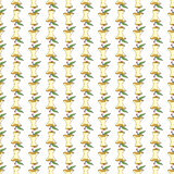 The cores of apples seamless pattern background. Royalty Free Stock Images