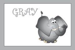 Cores: cinzento ilustração royalty free