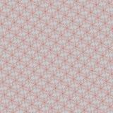 cores claras vermelhas e ilustração geométrica abstrata branca do teste padrão Fotografia de Stock Royalty Free
