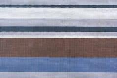 Cores coloridas do frio do guardanapo de linho Imagem de Stock