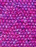 Cores cor-de-rosa de lãs Imagens de Stock Royalty Free