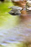 Cores da água fotografia de stock