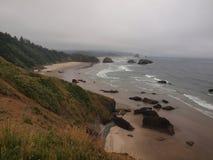 Cores da costa de Oregon Fotografia de Stock