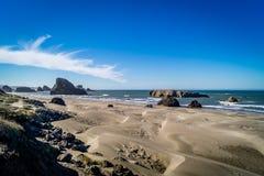Cores da costa de Oregon Fotografia de Stock Royalty Free