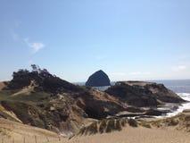 Cores da costa de Oregon Imagem de Stock