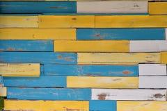 Cores da madeira da textura Fotos de Stock Royalty Free