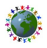 Cores da paz ilustração do vetor