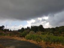 Cores das nuvens Fotos de Stock