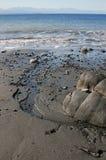 Cores das praias fotografia de stock royalty free