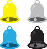 Cores de Bell ilustração stock