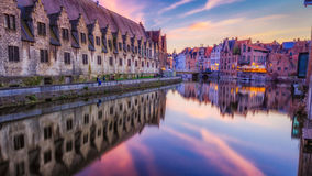 Cores de Ghent imagem de stock