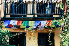 Cores de Nepal imagem de stock royalty free